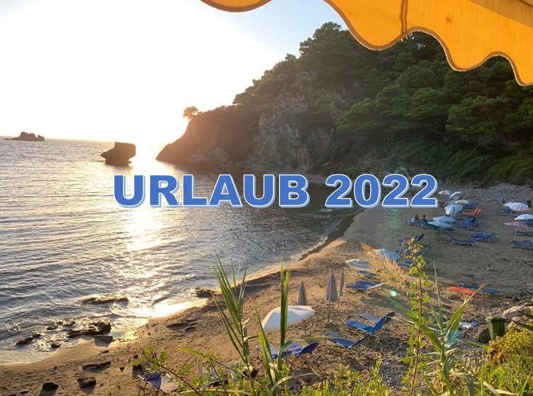 Urlaub 2022